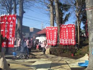 実籾稲荷通り 初午祭①